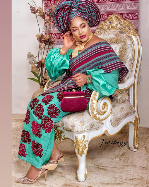 Learn How To Insult People When They Deserve It... : Yoruba Actress, Biodun Okeowo Blows Hot