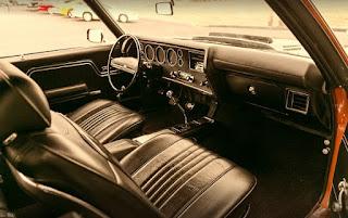 1971 Chevrolet Chevelle Malibu SS Dashboard