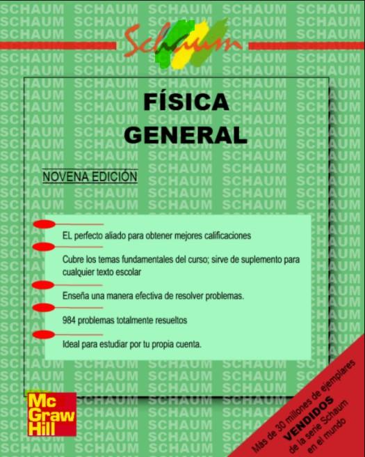 Física General Schaum 9 Edición Frederick Bueche en pdf