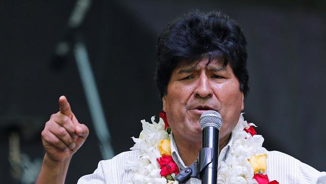 """Evo Morales: """"Voy a seguir haciendo política para derrotar a la derecha boliviana"""""""