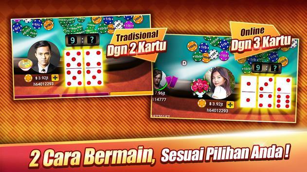 LUXY : Domino & Poker - Gaple QiuQiu QQ 99 - Putra Amalul
