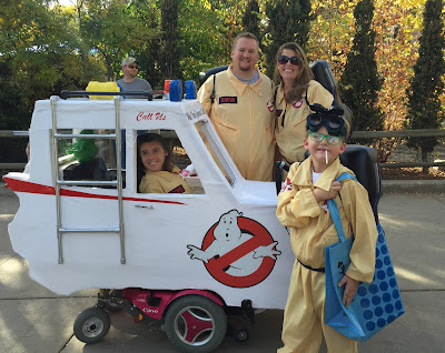 Family Costume Ghostbusters