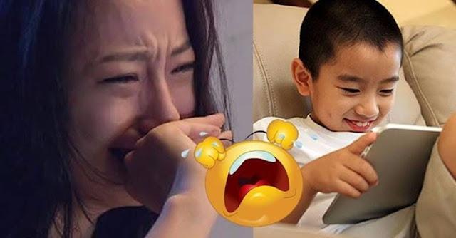 """Anak 2 Tahun Ini Tanpa Sengaja Merekam """"Hal"""" Yang Bikin Ibunya Malu Dan Langsung Bunuh Diri!"""