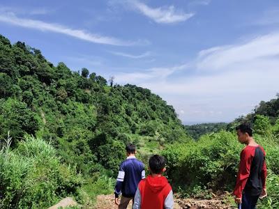 Menikmati Keindahan Curug Monyet Tegal Jawa Tengah