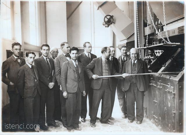Mehmet Ali Kağıtçı, İzmit Seka Kağıt Fabrikasında - 1936