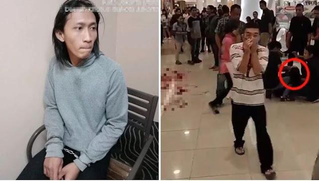 Diancam Akan Dipecat, Pria Ini Tusuk Leher Managernya Di Salah Satu Restoran Di Mall Pluit Jakarta