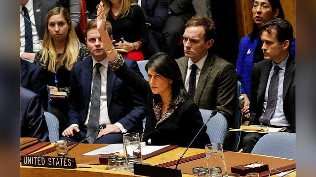 Tersungkur di PBB, Lobi AS dan Israel untuk Yerusalem Gagal Total