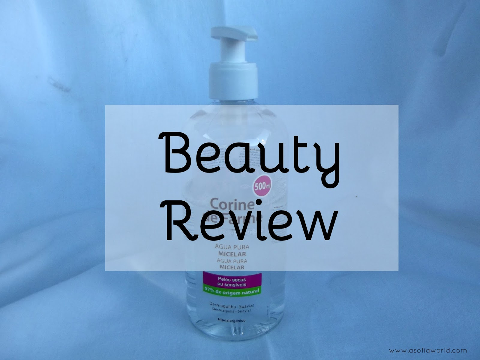 Corine de Farme Micellar Water Review.