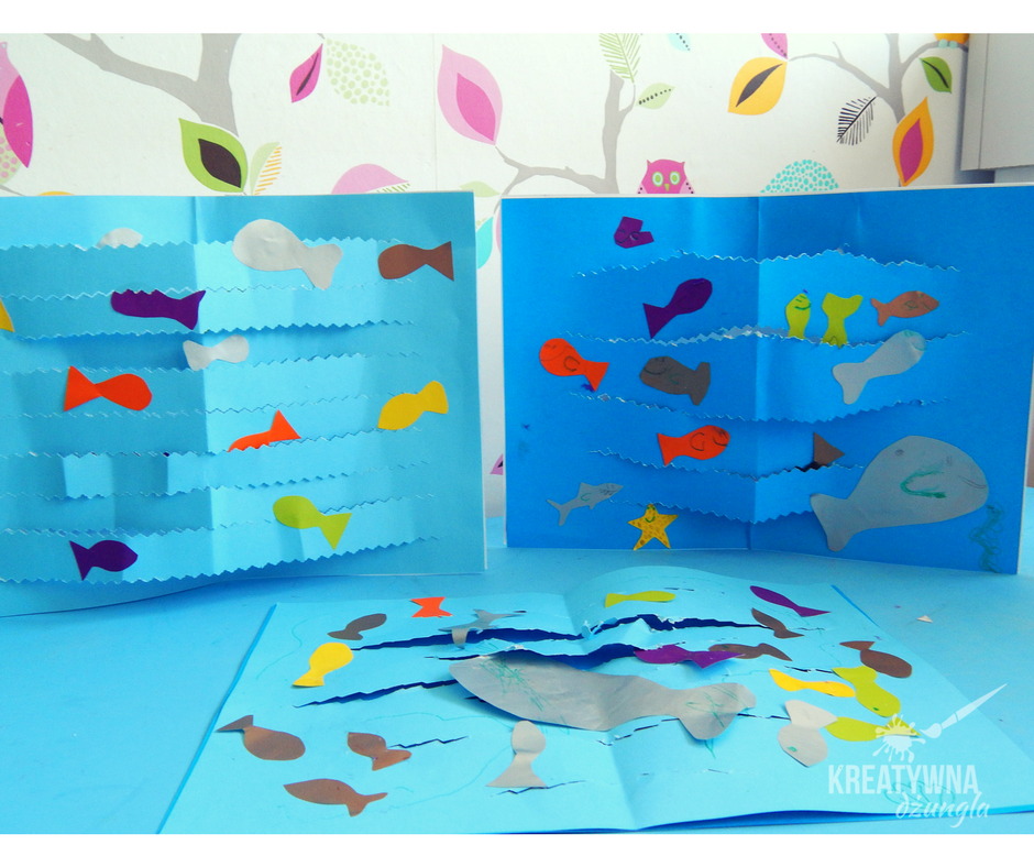 praca plastyczna ryby