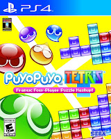 Puyo Puyo Tetris Game Cover PS4