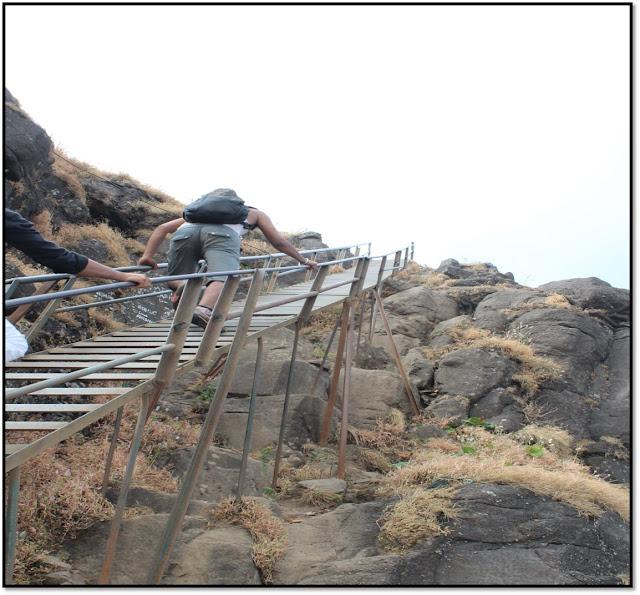 kalsubai trek,kalsubai ladder, most difficult trek