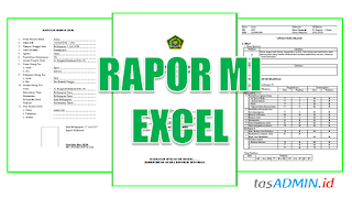 Download Aplikasi Raport MI Berbasis Excel