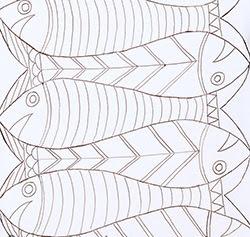 Cách vẽ mẫu thêu lên vải - Hình 2