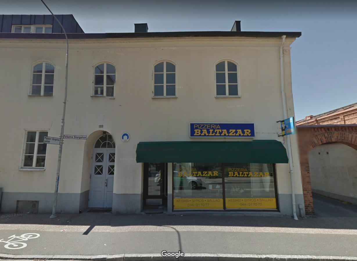 Sprādziens Zviedrijas pilsētā Kristianstad