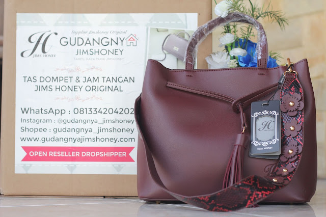 Real Pict Tas Jims Honey Sabrina Bag