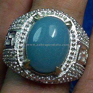 Cincin Batu Posfor Nyala Biru