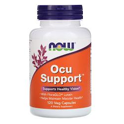 Now Foods, Ocu Support, 120 растительных капсул