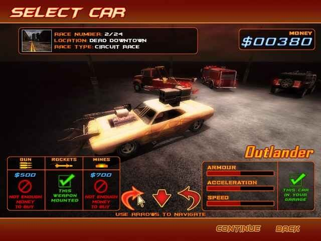 لعبة Deadly Race