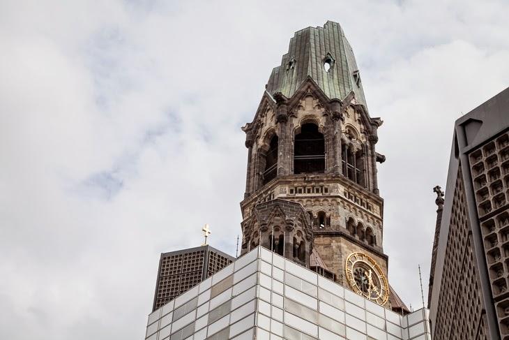 Passagem Gastronômica - Kaiser Wilhelm Memorial Church - Roteiro de Berlim - Alemanha