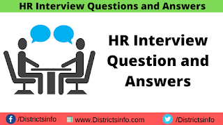 HR Interview Question and Answers