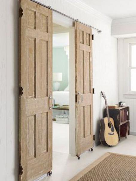 CHARMING BARN DOORS REUSE IDEAS