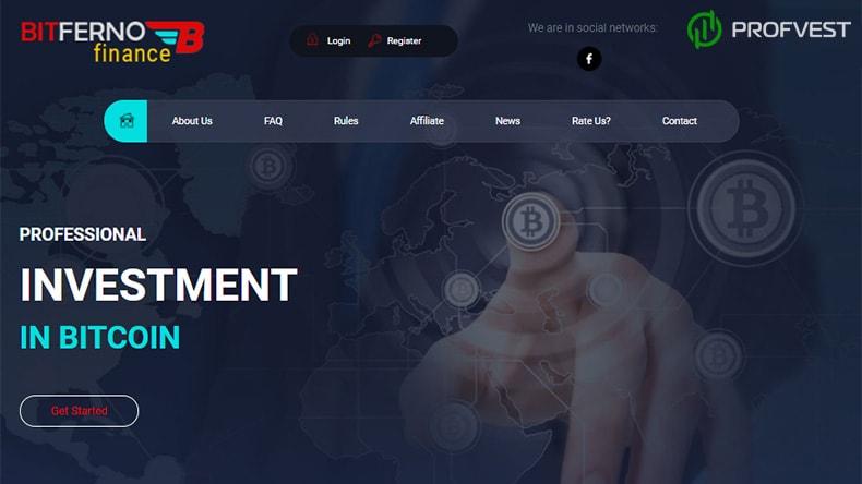 Bitferno Finance обзор и отзывы HYIP-проекта