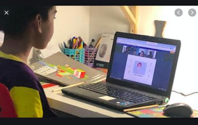 Ingat! Saran Dokter Anak Belajar Online Max 1,5 sampai 2 Jam per Hari