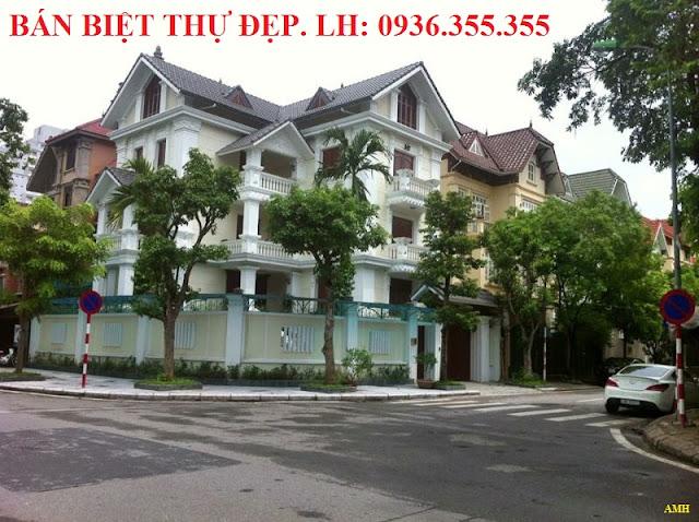 Bán biệt thự Làng Quốc Tế Thăng Long