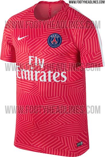 9e59874eb PSG 16-17 Pre-Match Shirt Leaked - Footy Headlines
