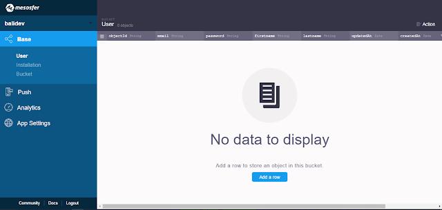 Database by Balidev