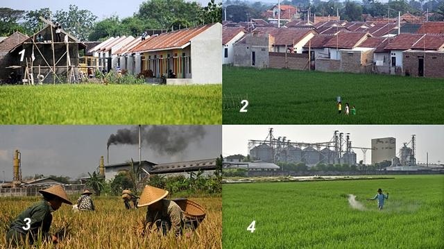 Konversi Lahan Pertanian Terhadap Perubahan Ruang dan Interaksi Antar Ruang