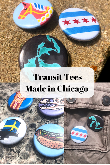 Transit Tees produces signature products reflecting the flavor of Chicago neighborhoods. Transit Tees designs their products in Chicago and a good number are produced or printed locally.
