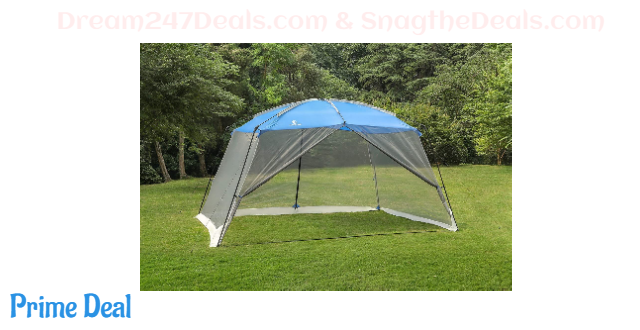 40%OFF CAMP Screen House Tent Easy Setup Canopy - 13'X9', Blue