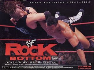 WWE / WWF Rock Bottom 98 - In Your House 26 - Event poster