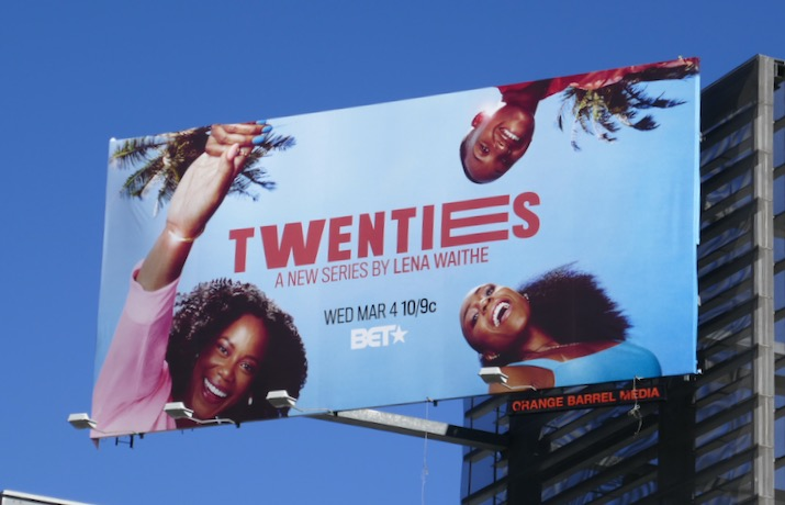 Twenties series premiere billboard