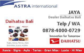 dealer daihatsu bali