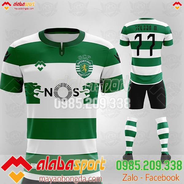 áo bóng đá tự thiết kế riêng cho công ty alb 37