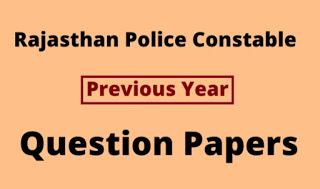 Rajasthan police constable bharti 2018 Question paper and answer key PDF download here