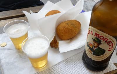 Arancini in Palermo