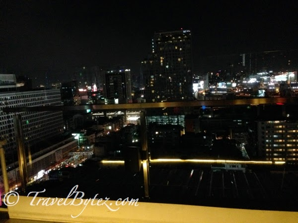 Night time in Bangkok