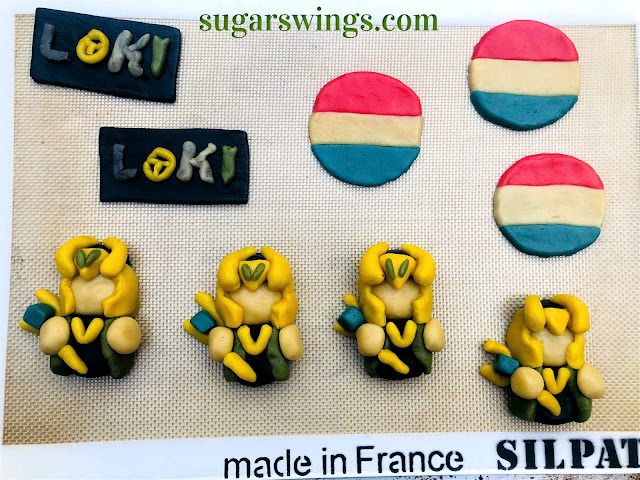 How to make Loki God of Mischief Cookies