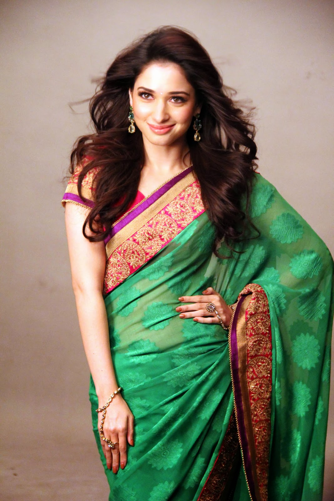 Tamanna Saree Gulte: Tamanna: Tamanna Bhatia Photoshoot For Joh Rivaaj