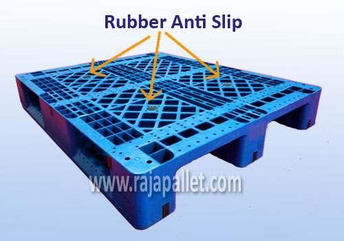 rubber ansti slip pallet racking