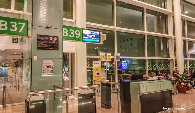 Voo de Barcelona para Malta