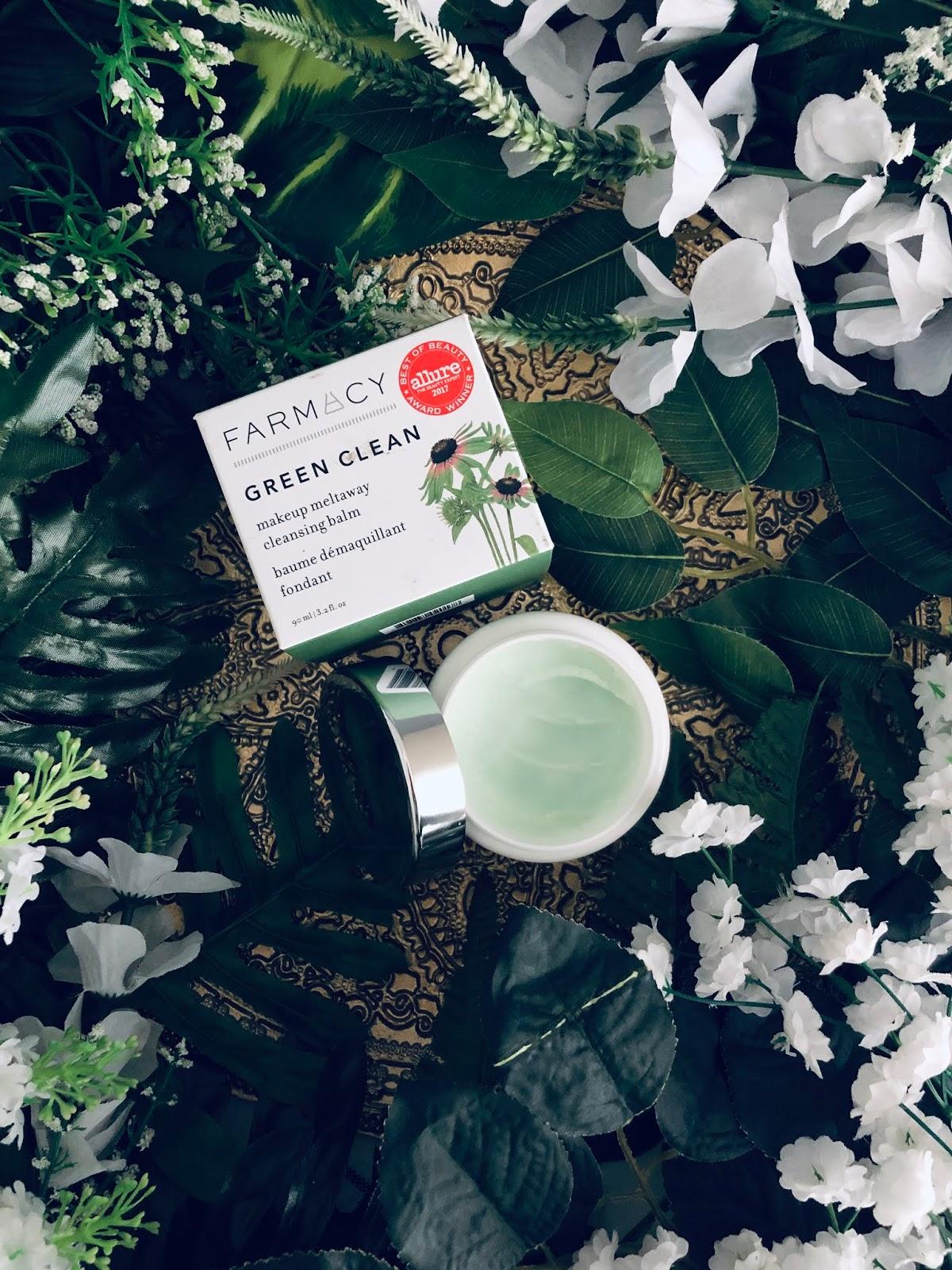 Green Clean cleansing balm de la firma Farmacy
