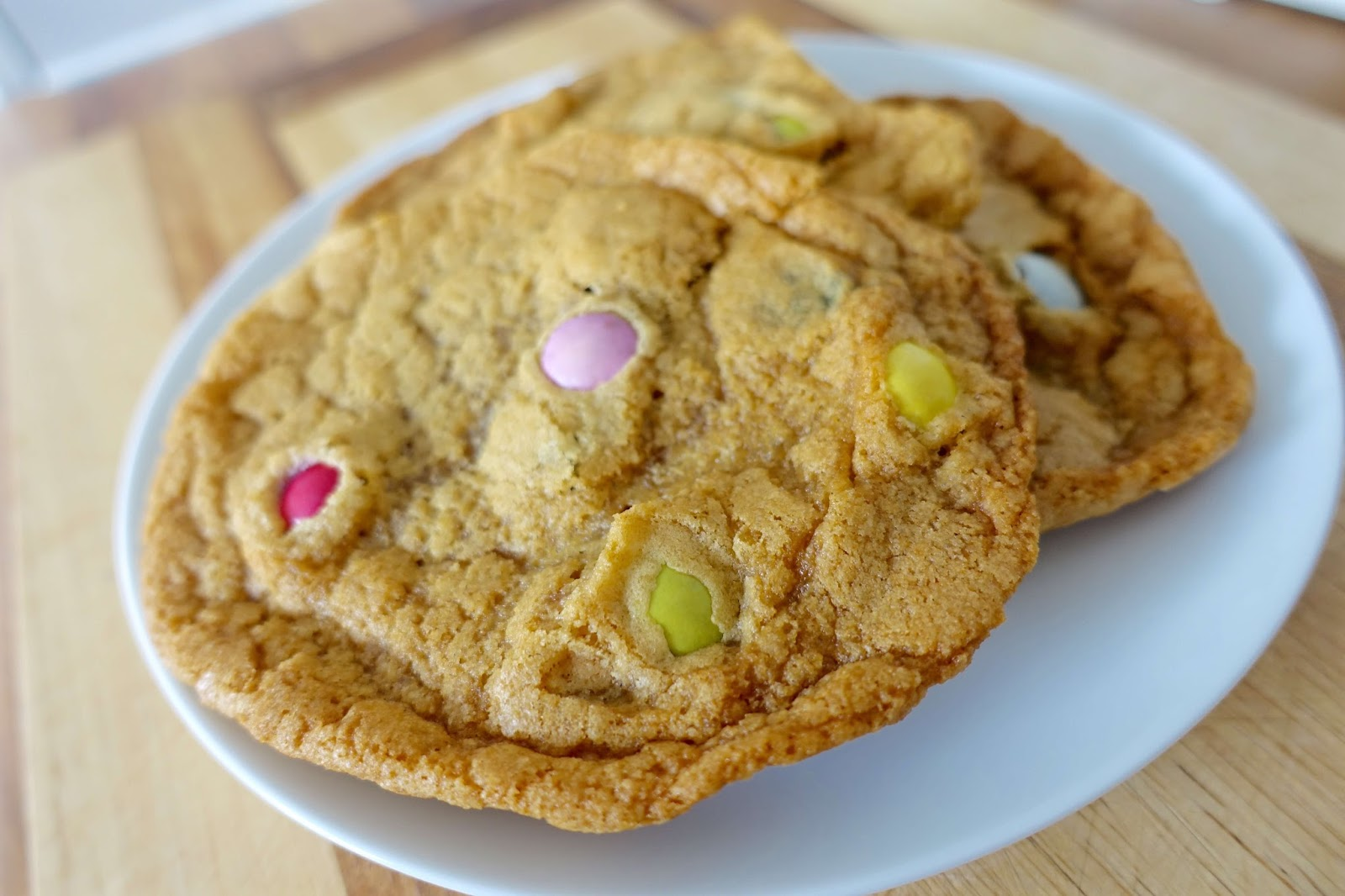 giant smarties cookie recipe