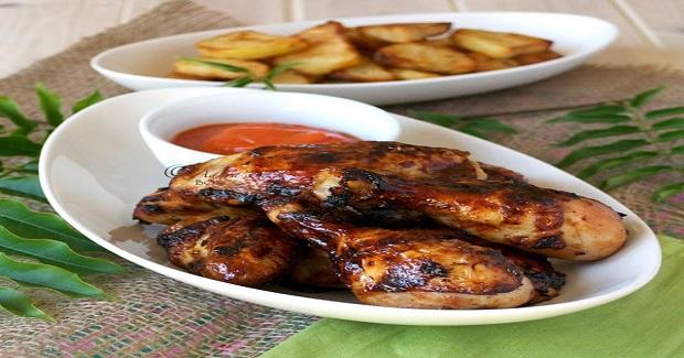 Filipino Unfried Chicken