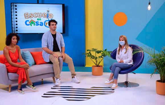 """""""Con ´Escuela en Casa TV´ llevamos educación de manera divertida a 108 mil estudiantes del Atlántico"""": Elsa Noguera"""