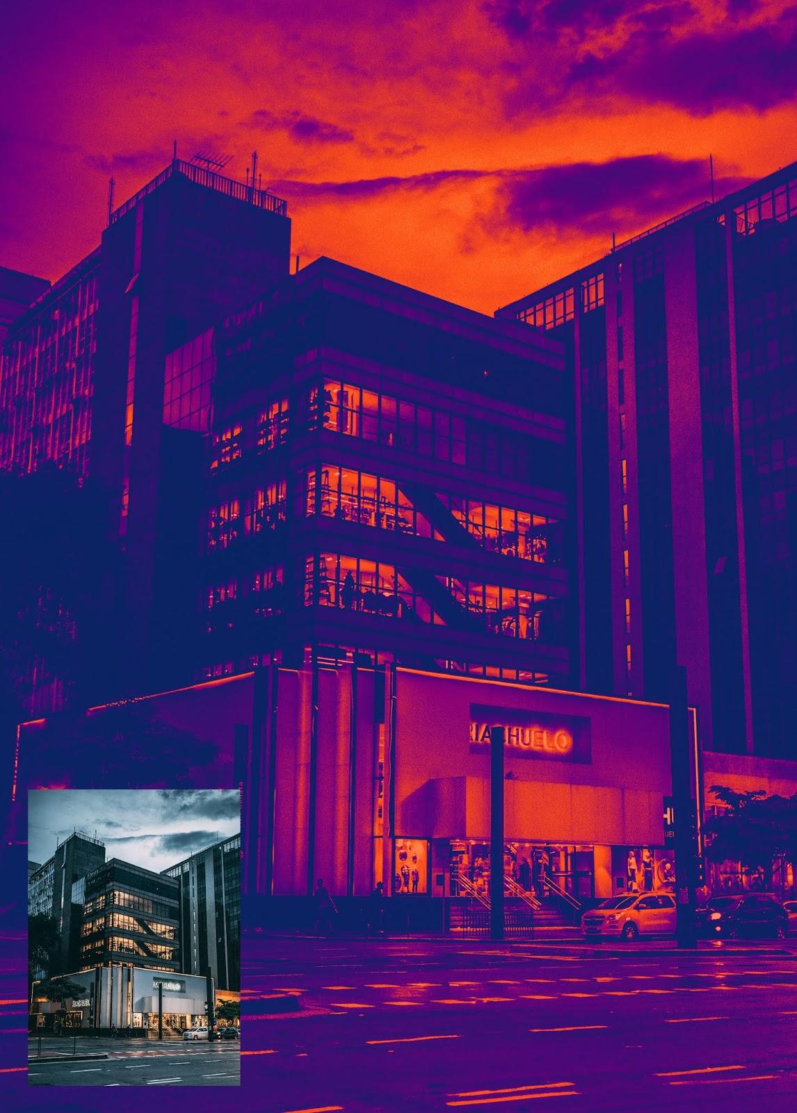 Free Download Cyberpunk 01 Photoshop Gradient - GDR File
