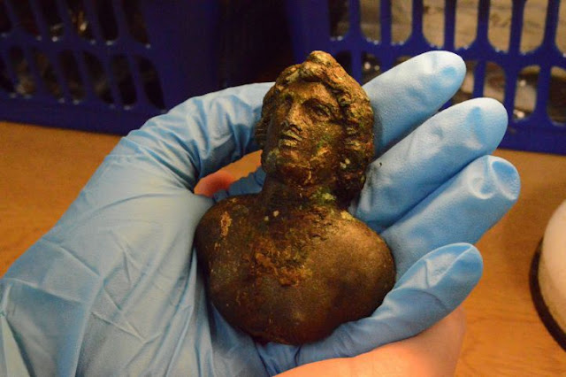 Amazing finds unearthed on Hadrian's Wall